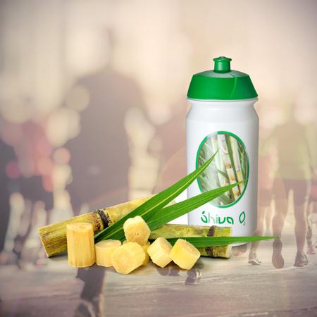 Trinkflasche Shiva O2 - Biobasierte Trinkflasche auf 100% Zuckerrohrbasis hergestellt