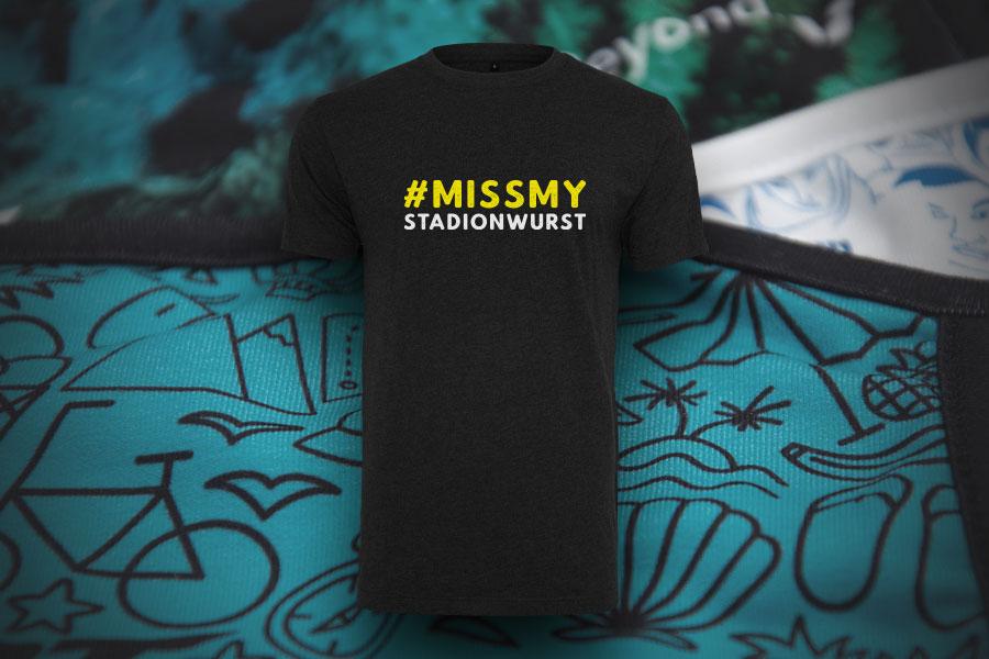 Sie haben das Motto - Wir liefern die Shirts in nur 5 Tagen!