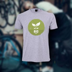 Nachhaltiges T-Shirt aus Biobaumwolle