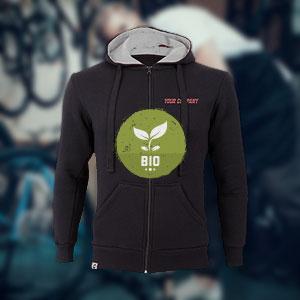 Hoody aus nachhaltiger Biobaumwolle