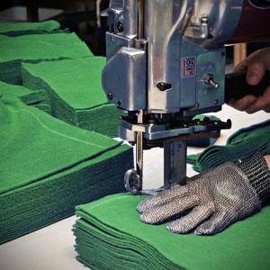 Eigene Textilproduktion