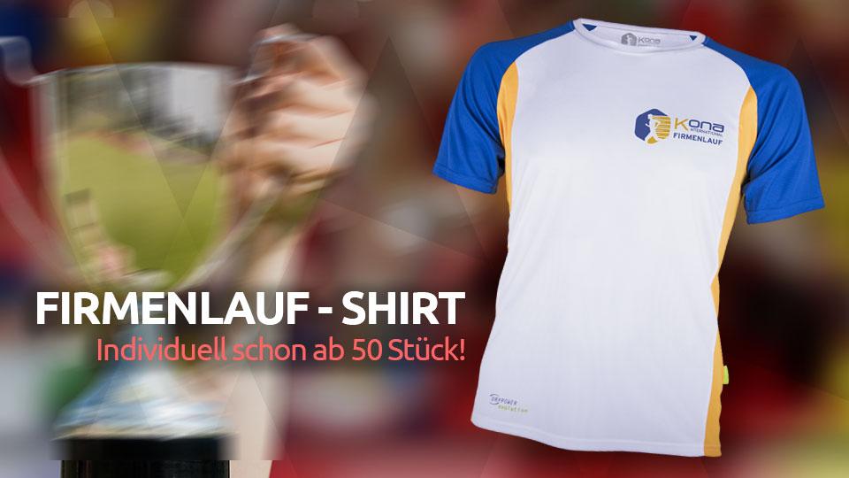 Individuelle Firmenlauf-Shirts in Top-Qualität