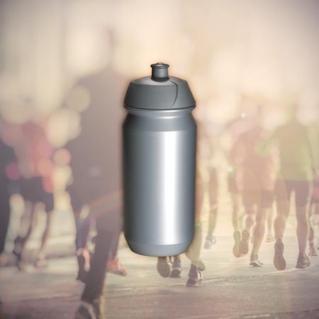 Trinkflasche Shiva - Klassische Sport-Trinkflasche im zeitlosen ergonomischen Design