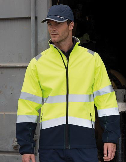 RT450 - Softshell-Safety Jacke - Wasserdichte, atmungsaktive und winddichte Safety-Jacke