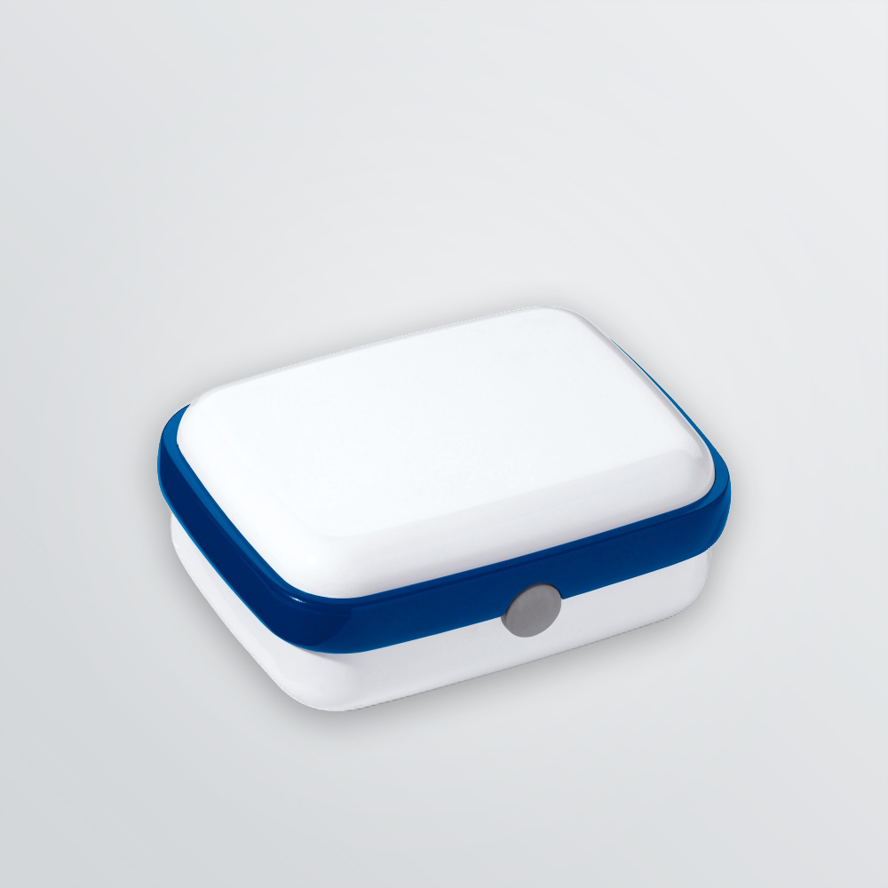 printable lunch box made of plastic depicted without logo branding