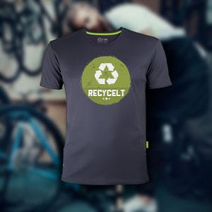 Evolution Tech Shirt aus recyceltem Polyester