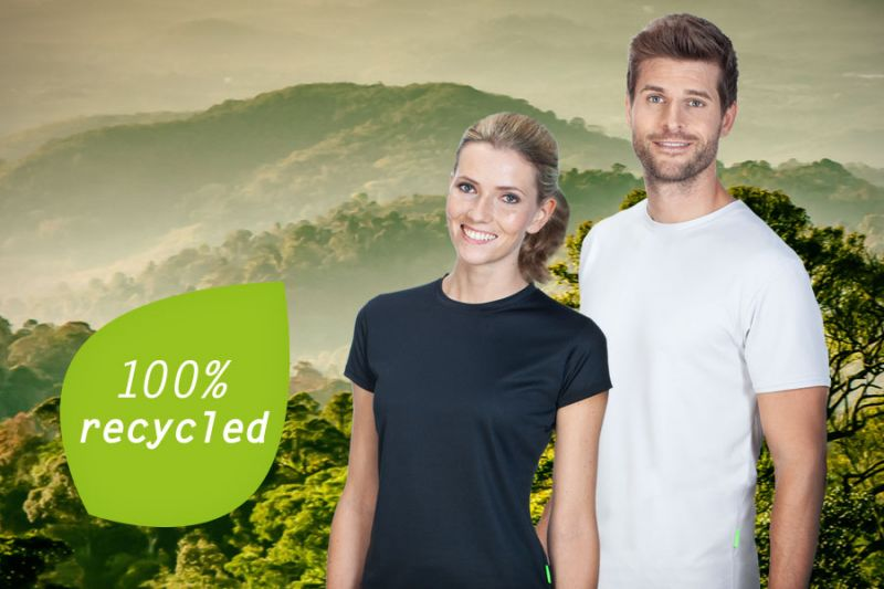 EVOLUTION: SPORTS SHIRTS MADE OF RECYCLED POLYESTER