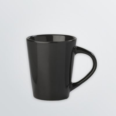 customisable mug in black sample colour with handle