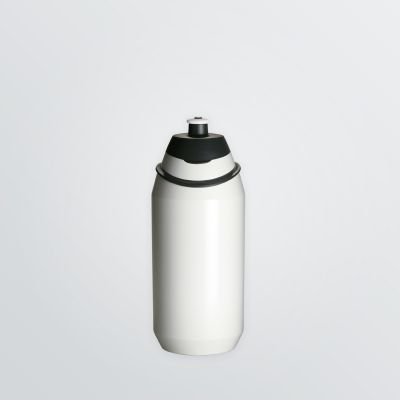 printable Source bottle for sport and leisure in the colour white and 500ml size