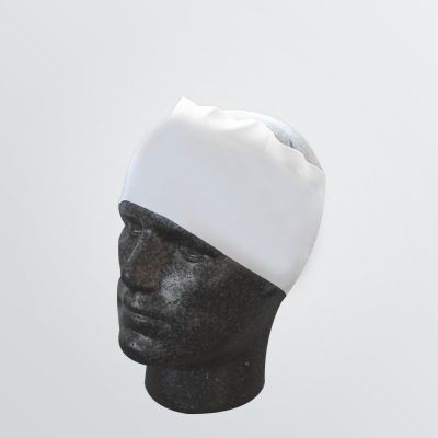 thermo-regulating Head Band for customisation with full-sublimation in white colour