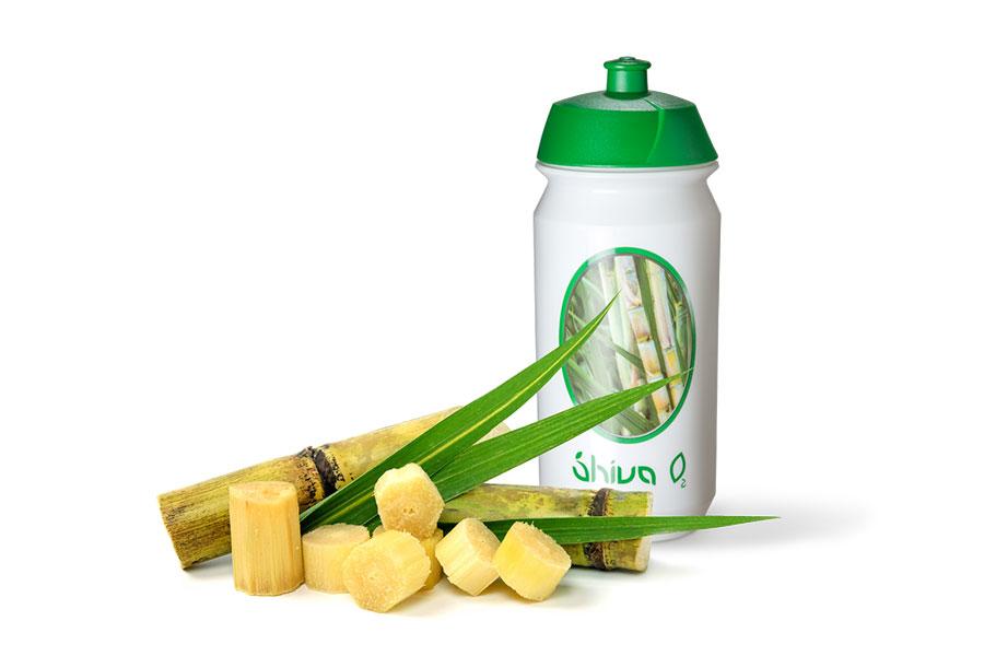 Shiva O2 Trinkflasche aus Zuckerrohr